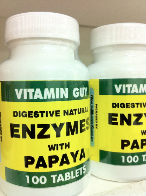 Enzymes w/ Papaya (100 Capsule)