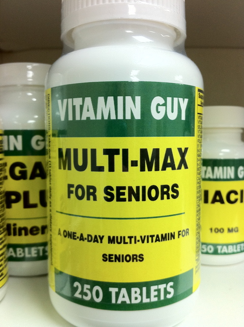Multi-Max Senior (250 Tablet)
