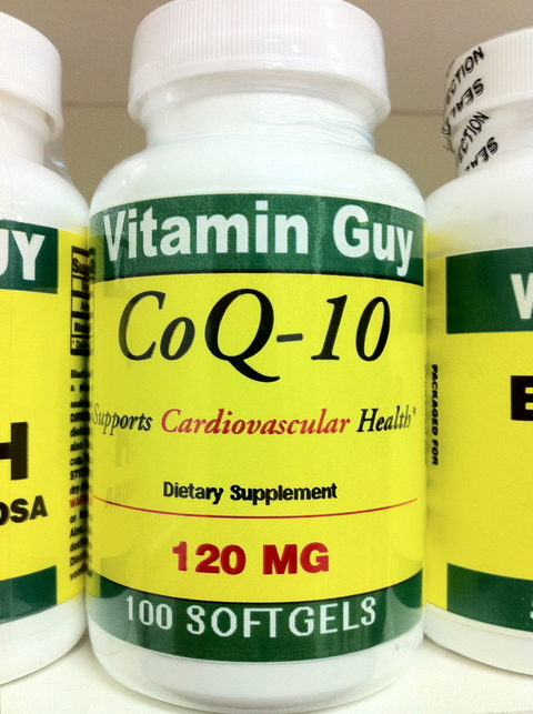CoQ-10 120 mg (100 softgels)