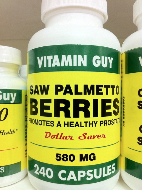 Saw Palmetto 580 mg (240 Capsule)