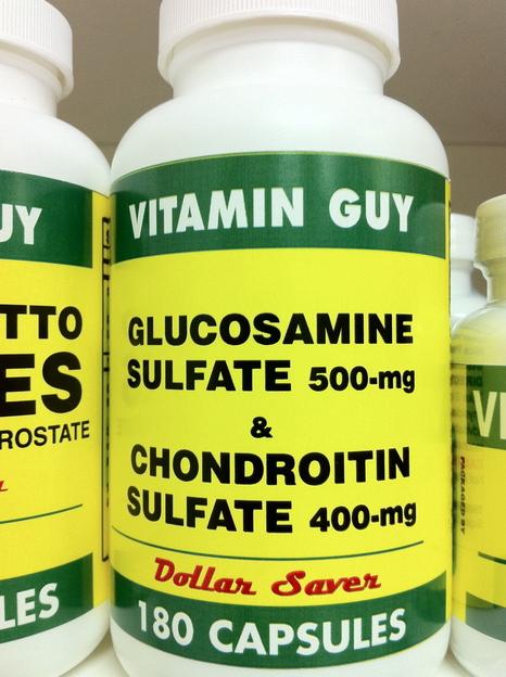 Glucosamine & Chondroiton 900 mg (180 Capsule)
