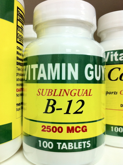 B- 12 Sublingual 2500 mcg (100 Tablet)