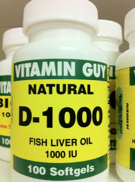 D-3 1000 IU (100 softgels)