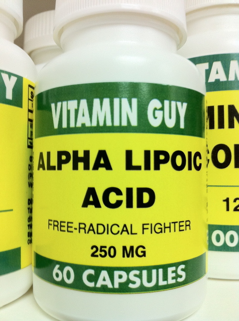 Alpha Lipoic Acid 250 mg (60 Capsule)
