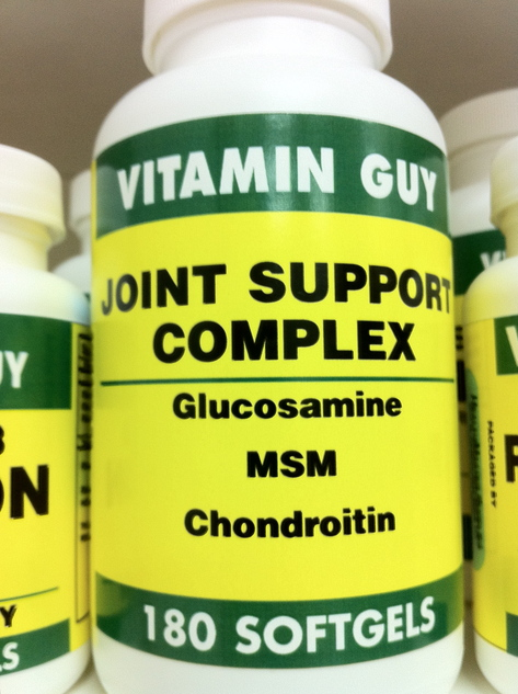 Joint Support w/ Glucosamine/Chon/MSM (180 Softgels)