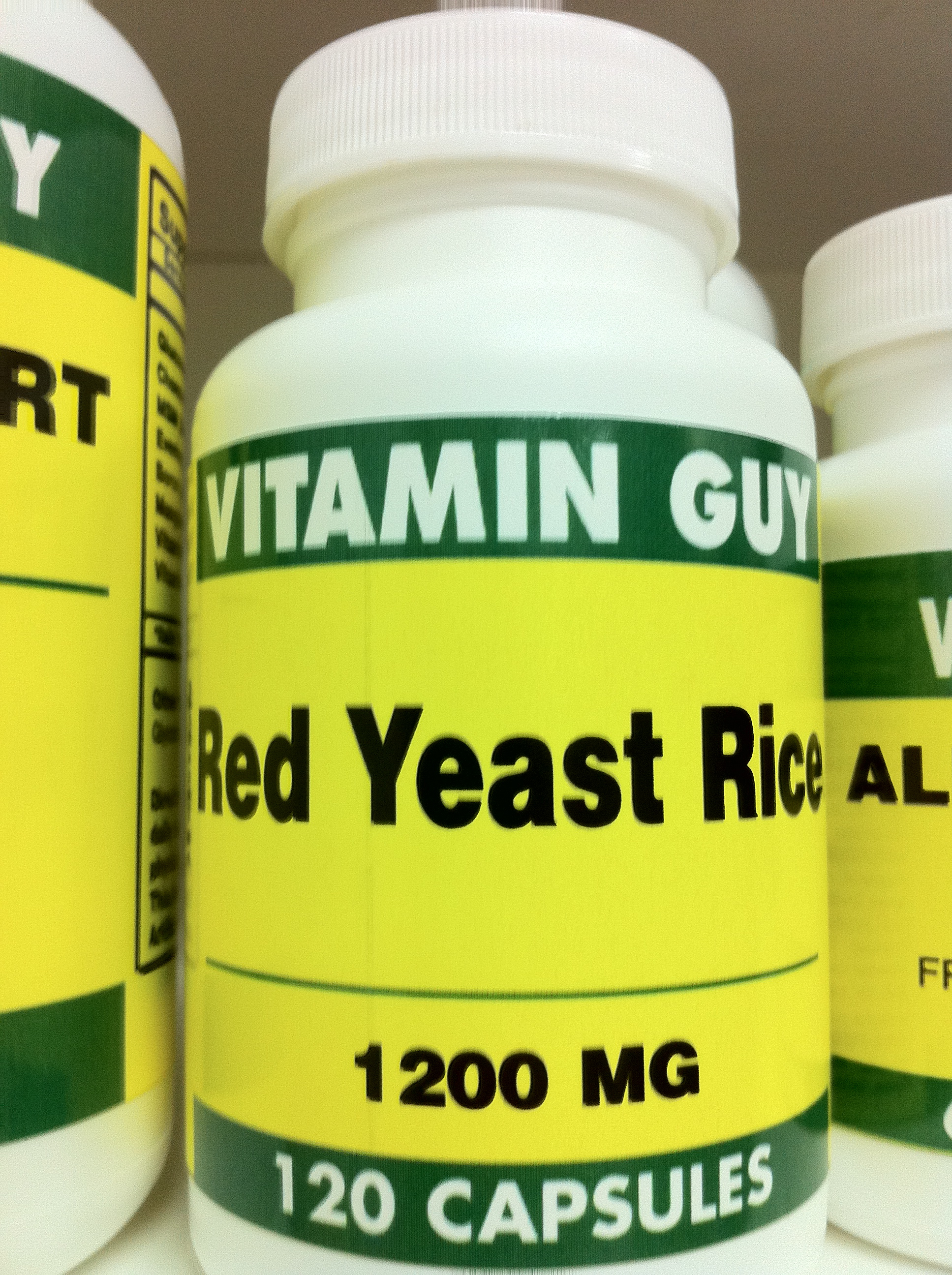 Red Yeast Rice 600 mg (120 capsules)