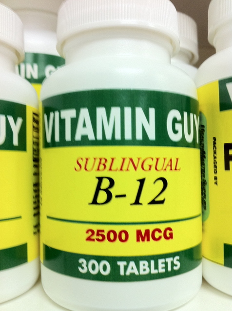 B- 12 Sublingual 2500mcg Xtra Value Pack (300 Tablets)