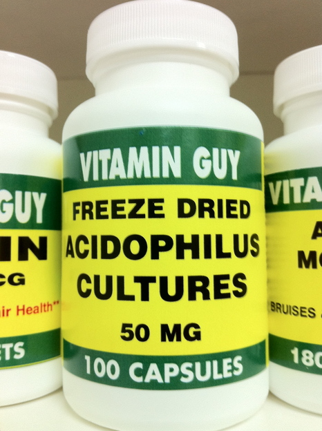 Acidophilus 50 mg (100 Capsule)