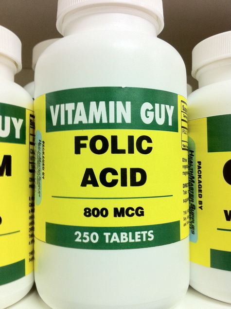 Folic Acid 800 mcg (250 Tablet)