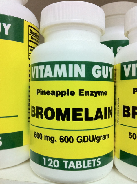 Bromelain 500 mg 600 GDU (120 tablets)