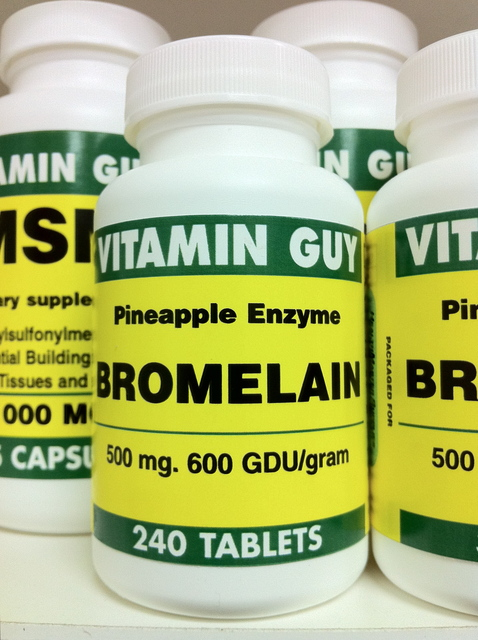 Bromelain 500 mg Value Pack (240 tablets)
