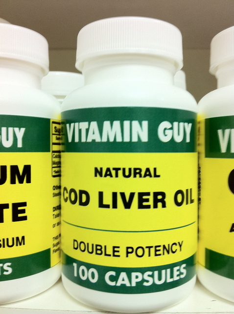 Cod Liver Oil 2500 mg (100 Tablet)