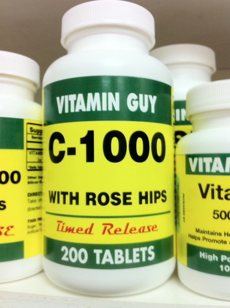 C-1000 w/ Rose Hips Time Release (200 tablets)