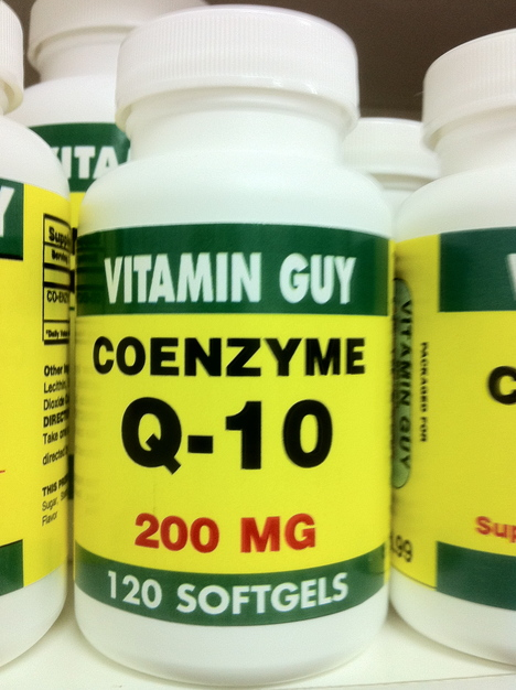 CoQ-10 200 mg (120 softgels)