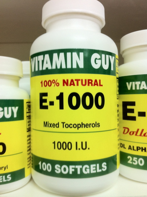 E-1000-Natural D Alpha 1000 mg (100 softgels)