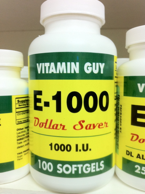 E-1000 1000 mg (100 softgels)