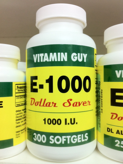 E-1000 1000 mg (300 Softgels)