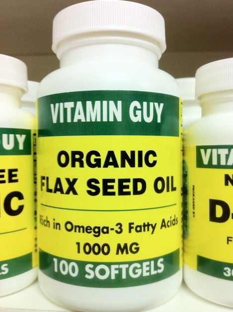 Flax Seed Oil 1000 mg (100 Capsule)