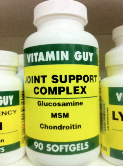 Joint Support w/ Glucosamine/Chon/MSM (90 Softgels)
