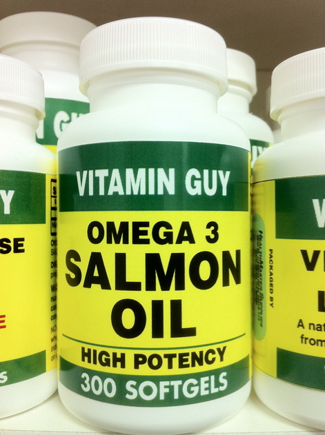 Omega 3 Salmon Oil 1000 mg-XL Value Pack (300 softgels)