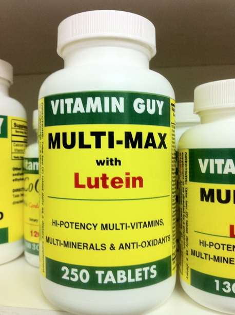 Multi-Max with Lutein (250 Tablet)