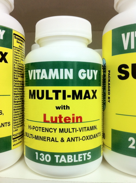 Multi-Max with Lutein (130 Tablet)