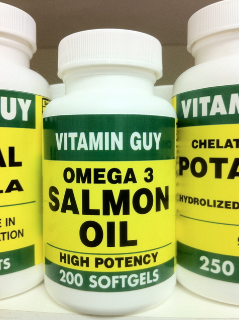 Omega 3 Salmon Oil 1000 mg-Value Pack (200 softgels)