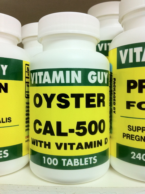 Oyster Cal 500 w/Vitamin D (100 tablets)