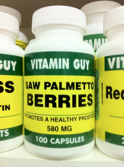 Saw Palmetto 580 mg (100 Capsule)