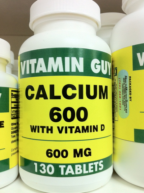 Calcium 600 mg w/Vitamin D (130 Tablet)