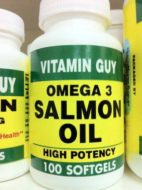 Omega 3 Salmon Oil 1000 mg (100 softgels)